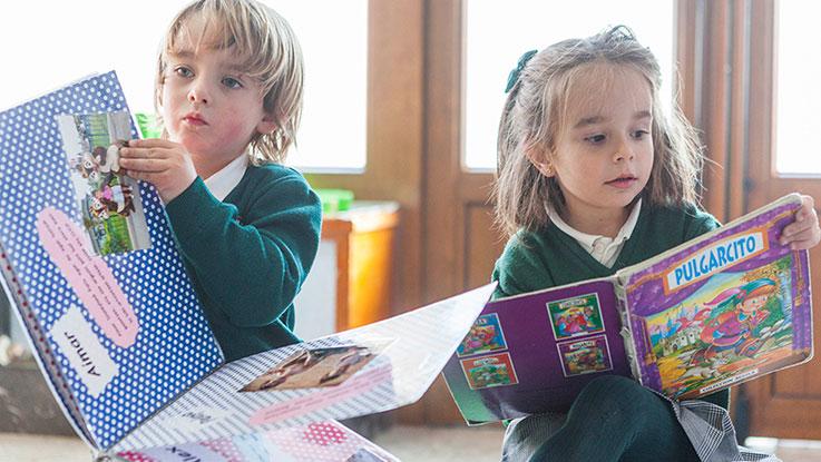 Colegio Ntra. Sra. de la Merced Ikastetxea biblioteca escolar