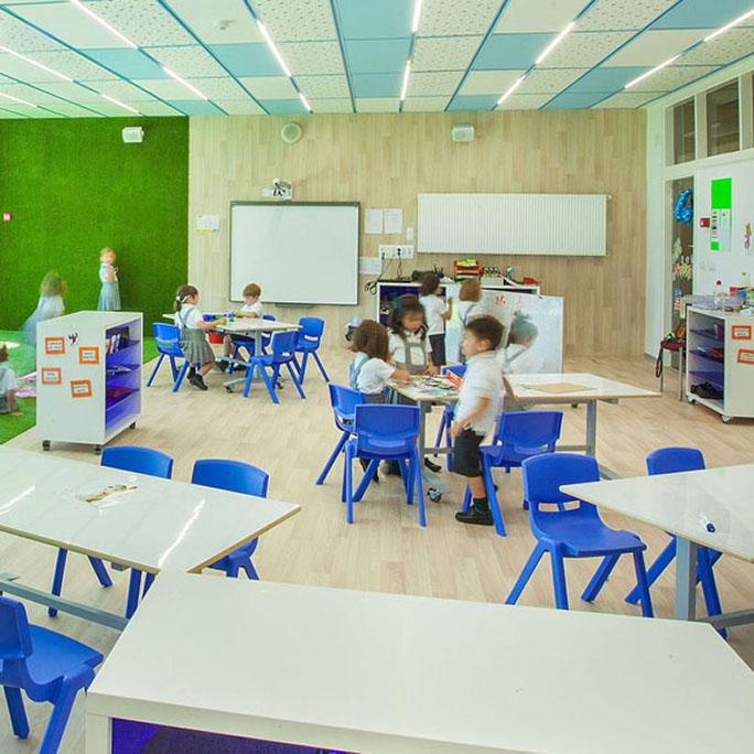 Colegio Ntra. Sra. de la Merced Ikastetxea aula nueva 4 años
